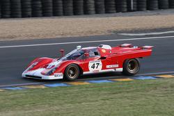 #47 Ferrari 512 M 1971: Stevan Read, David Franklin