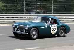 #33 Austin Healey 100 M 1955: Xavier Beaumartin, Philippe Rochat