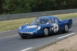 #69 Alpine Renault M65 1965: Jean Ragnotti, Alain Serpaggi