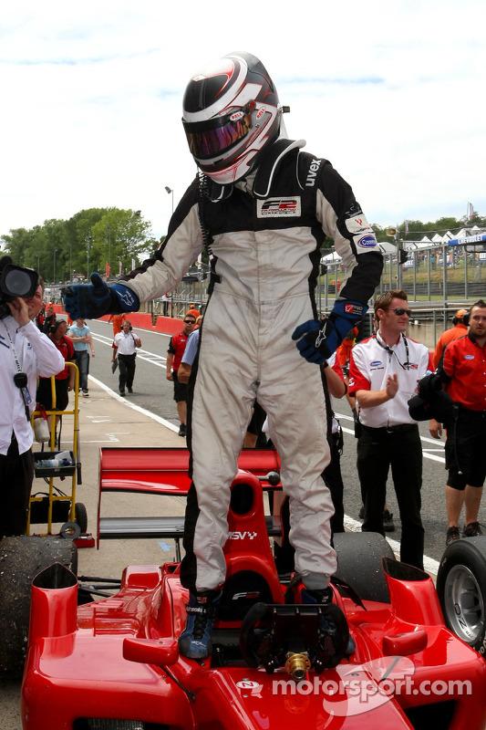 Race winnaar Philipp Eng
