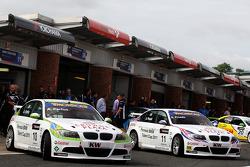 Augusto Farfus, BMW Team RBM, BMW 320si, Andy Priaulx, BMW Team RBM, BMW 320si