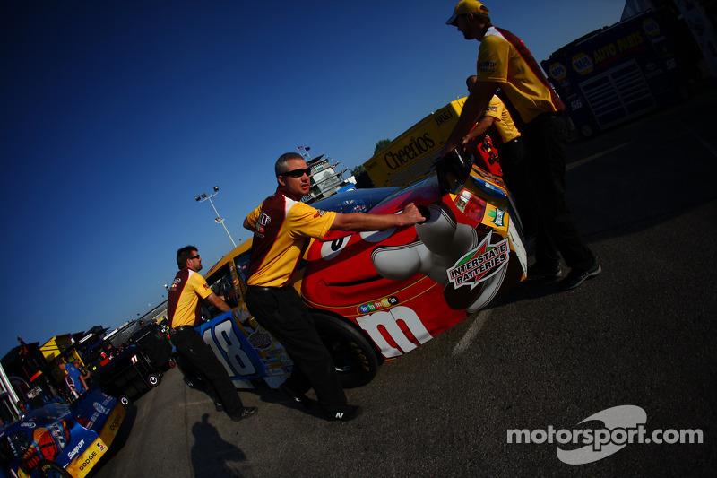 Auto van Kyle Busch, Joe Gibbs Racing Toyota