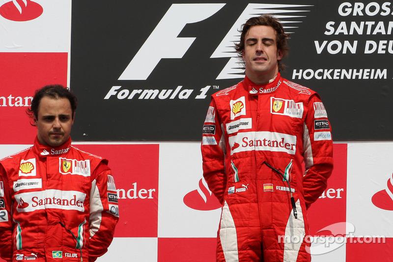 2010-2013 годы: Фелипе Масса, Ferrari