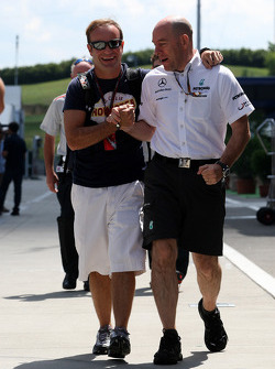 Rubens Barrichello, Williams F1 Team, Jock Clear, Mercedes GP, Senior Race Engineer