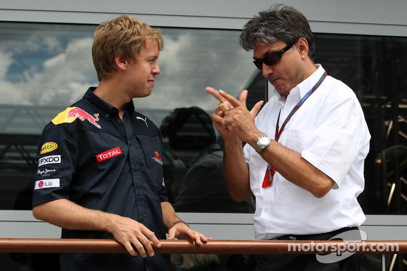 Sebastian Vettel, Red Bull Racing, Pasquale Lattuneddu, FOM