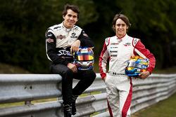 Robert Wickens and Esteban Gutierrez winners of races 9 and 10 in the GP3 series at Hockenheim