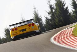 #13 Phoenix Racing / auto'sport Corvette Z06: Marc Hennerici, Mike Hezemans