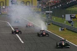 Jaime Alguersuari, Scuderia Toro Rosso motor opgeblazen