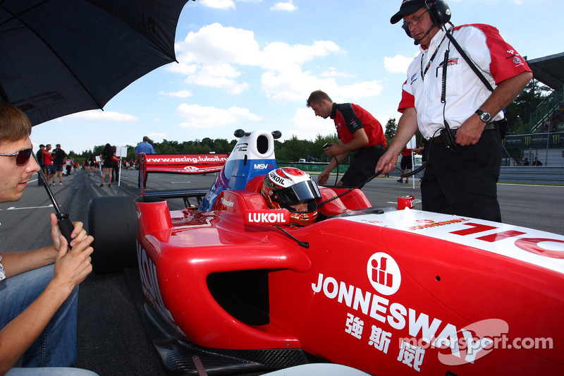 Sergey Afanasiev op de grid