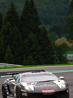 #84 Reiter Engineering Lamborghini LP560-4 GT3: Peter Kox, Marc Hayek, Ettore Bonaldi, Jeffrey Lee
