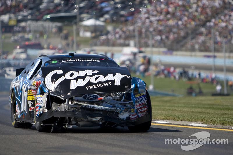 Colin Braun wrecks