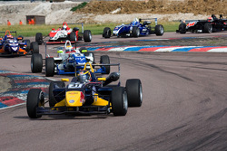 Jean-Eric Vergne leads the pack