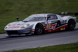 #40 Robertson Racing Doran Design Ford GT: David Robertson, Andrea Robertson, David Murry