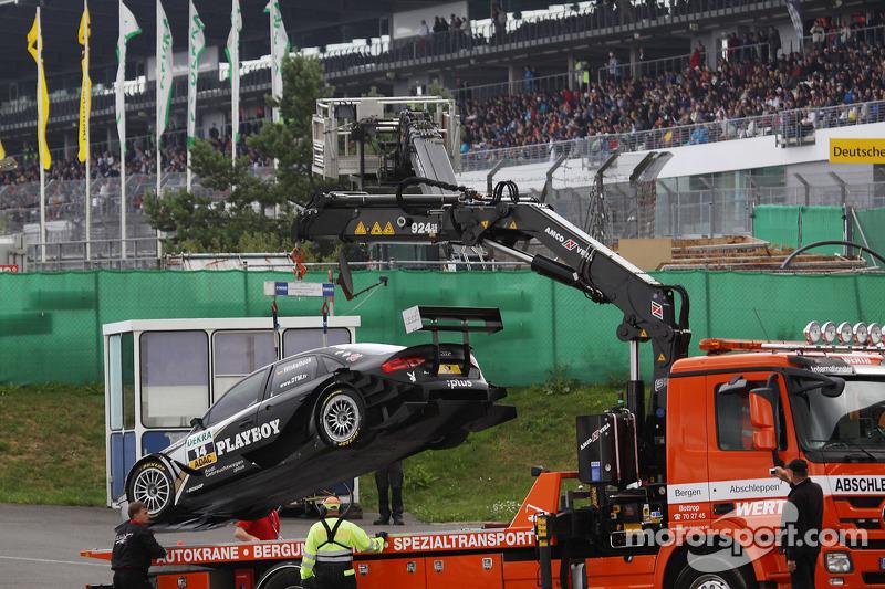 Auto van Markus Winkelhock, Audi Sport Team Rosberg Audi A4 DTM