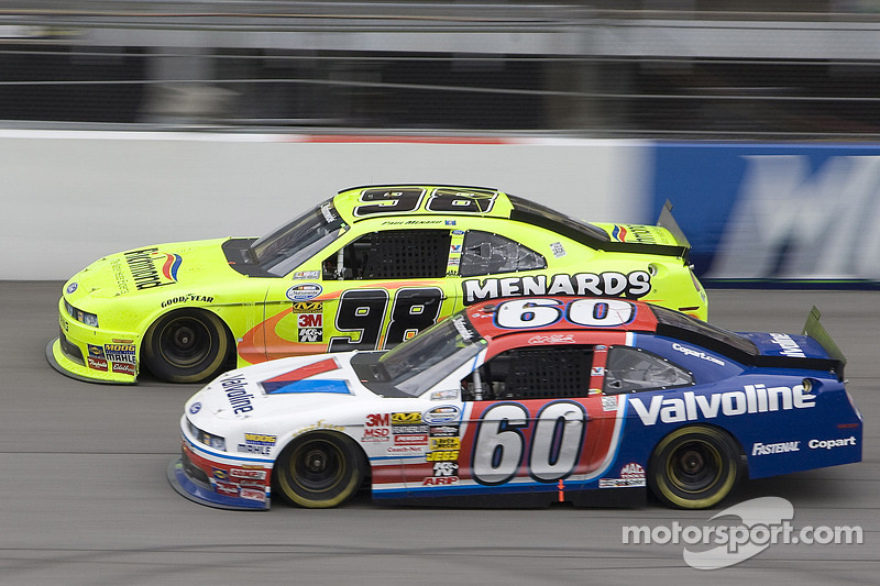 Carl Edwards en Paul Menard