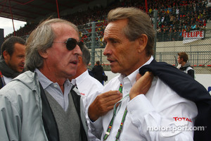 David Richards and Jacky Ickx