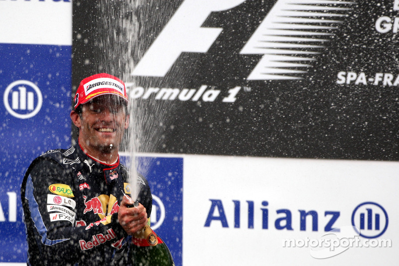 Podium: 2de Mark Webber
