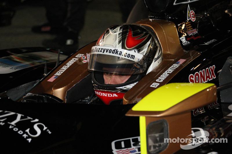 Polepositie Ed Carpenter, Panther Racing/Vision