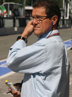 Fabio Capello, England Football team manager