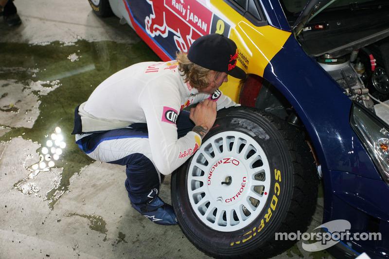 Кімі Райкконен і Кай Ліндстрьом, Citroën C4 WRC, Citroën Junior Team