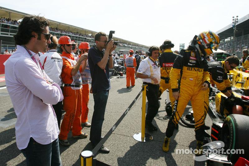 Роберт Кубіца (Renault) і Даріо Франкітті