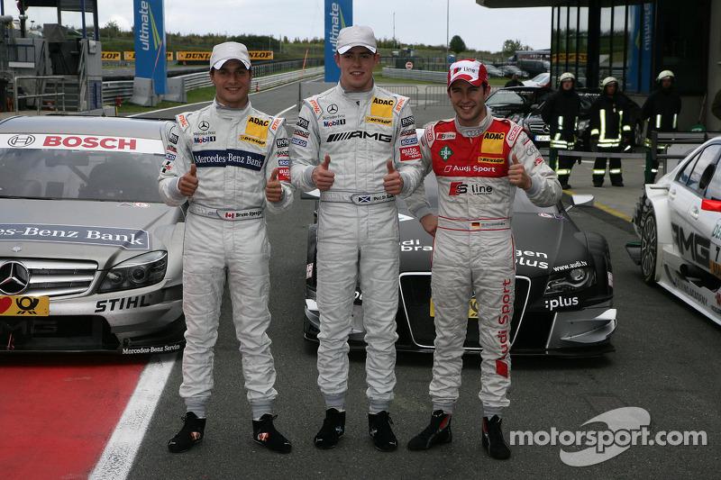 Kwalificaties: 2nd Bruno Spengler, Team HWA AMG Mercedes C-Klasse, pole Paul di Resta, Team HWA AMG