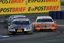 Martin Tomczyk, Audi Sport Team Abt Audi A4 DTM en Gary Paffett, Team HWA AMG Mercedes C-Klasse
