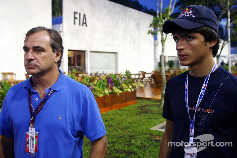 Carlos Sainz en Carlos Sainz Jr., Eurointernational