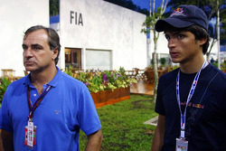 Carlos Sainz and Carlos Sainz Jr., Eurointernational