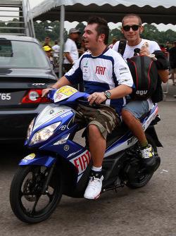 Evento previo go-kart: Valentino Rossi