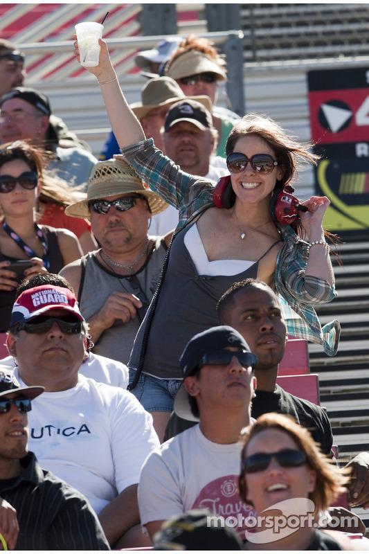 Les fans sont prêts pour la course