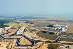 Vue aérienne du Korea International Circuit