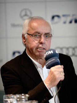 BMW returns to DTM press conference: ITR president Hans-Werner Aufrecht