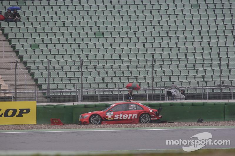 Congfu Cheng, Persson Motorsport, AMG Mercedes C-Klasse bij de Sachs Corner