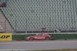 Congfu Cheng, Persson Motorsport, AMG Mercedes C-Klasse at the Sachs Corner