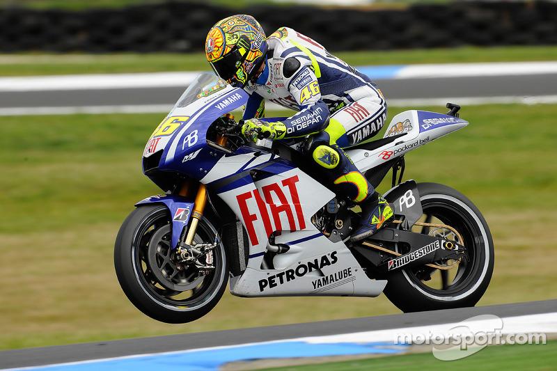2010. Yamaha YZR-M1 - бронзовий призер, 2 перемоги, 233 очки