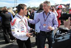 Менеджер LCR Honda MotoGP Лусіо Секчінелльо з Міком Духаном