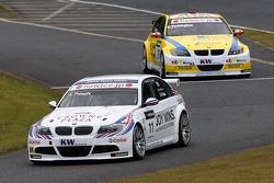 Andy Priaulx, BMW Team RBM BMW 320si en Colin Turkington, eBay Motors BMW 320si