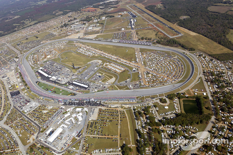 Aerial View Of Talladega Superspeedway At Talladega Ii