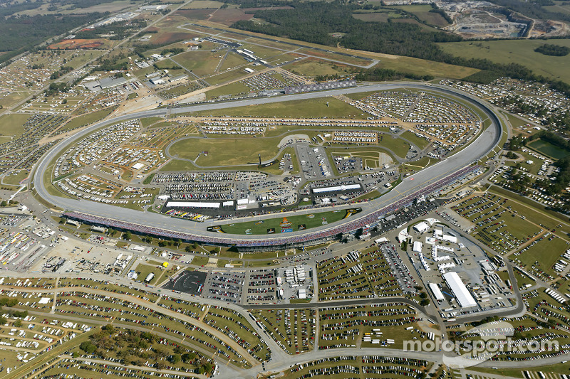 Aerial view of Talladega Superspeedway