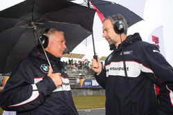 Andreas Bellu, and Jan Hartmann, Head of Touring Cars at BMW