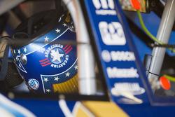 Helmet of Kurt Busch, Penske Racing Dodge