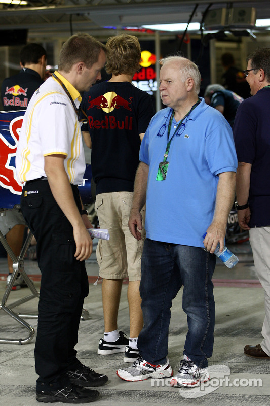 Norbert Vettel, vader Sebastian Vettel, Red Bull Racing