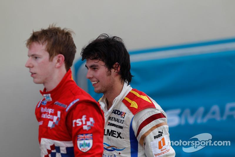Sergio Perez en Oliver Turvey