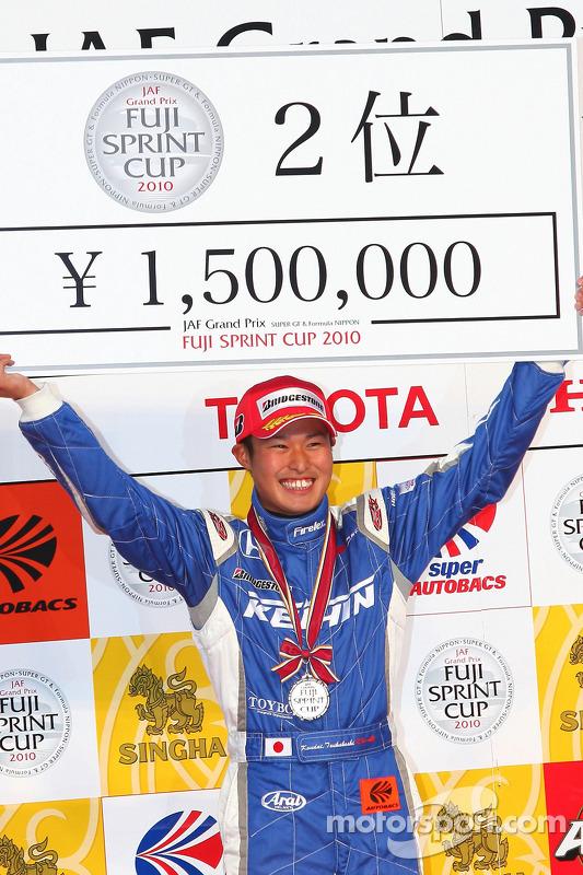 Podium GT500: 2de Koudai Tsukakoshi
