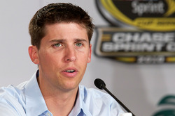 Championship contenders pre-race press conference: Denny Hamlin, Joe Gibbs Racing Toyota