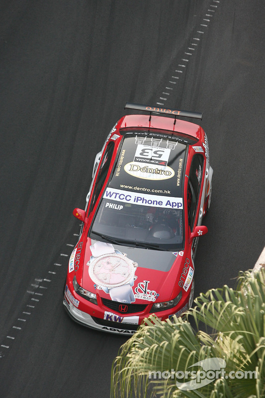 Philip Ma, Jacob & Co Racing Team Honda Accord