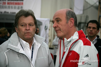 Norbert Haug, Sporting Director Mercedes-Benz and Dr. Wolfgang Ullrich, Audi's Head of Sport