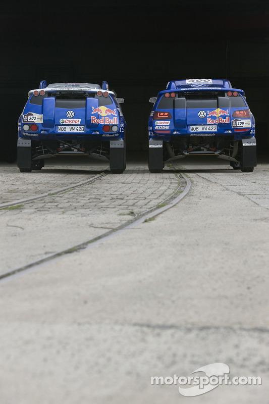 Volkswagen Motorsport: de Volkswagen Race Touareg 3