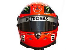 Casco de Michael Schumacher, Mercedes GP Petronas F1 Team